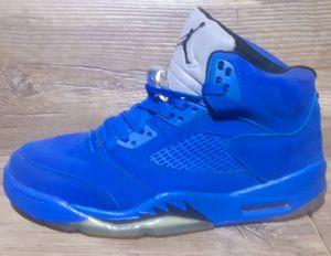 Jordan retro 5 Blue Suede size 8.5 for Sale in Columbus, OH