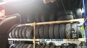 The king of rubber Frank's used tires 4 less for Sale in Pittsburgh, PA