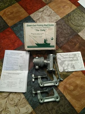 "S-10 ""The Salty"" Down East Fishing Rod Holder (New In Box) for Sale in Clinton, NC"