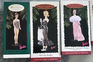 Barbie Hallmark ornaments for Sale in St. Petersburg, FL