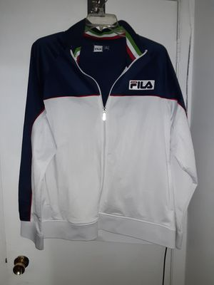 Fresh Fila Sport Italia Jacket size XXL for Sale in Woodbridge, VA