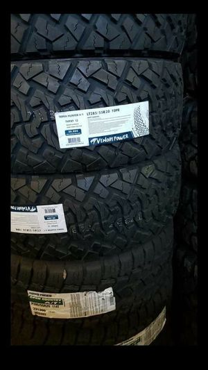 BRAND NEW SET OF TIRES 285 55 20 for Sale in Phoenix, AZ