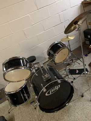 Drum set with extra ride cymbal $240 for Sale in Annandale, VA