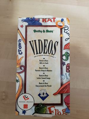 Rusty & Rosy VHS Videos for Sale in Enumclaw, WA