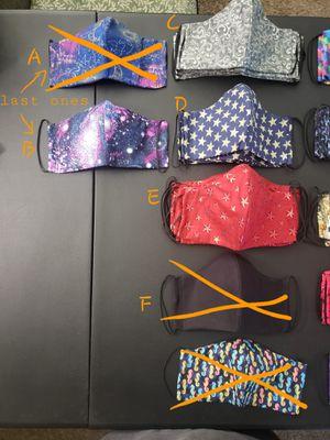 Face masks for Sale in Pomona, CA