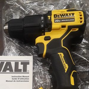 Brand new Dewalt 20v Brushless hammer Drill Tool Only $75 Firm On Price No Lower for Sale in Fresno, CA