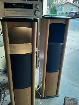 Techwood speakers and pioneer reciever for Sale in Sacramento, CA
