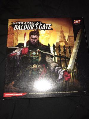 Betrayal at Baldur's Gate game for Sale in Peabody, MA
