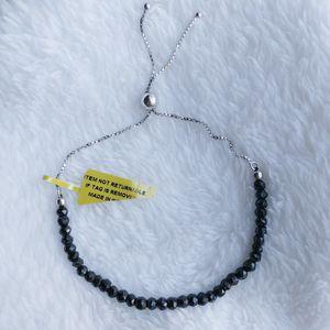 Sale. Holiday Gift 🎁 New black Spinel bead sterling silver adjustable bracelet for Sale in Coconut Creek, FL