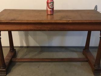 Old Heavy Solid Wood Bench Use As A Coffee Table, Entry Way Bench Or? $25 for Sale in Lake Stevens,  WA