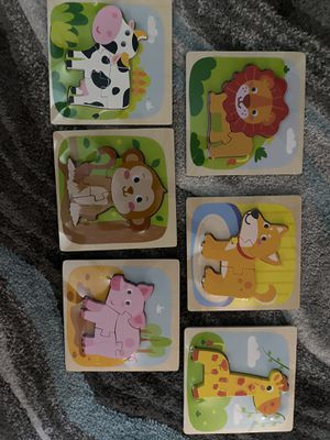 6 small children's puzzles new for Sale in Chandler, AZ