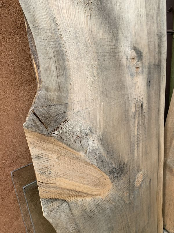 Live edge wood slab 6ft long for console table - 2 for sale
