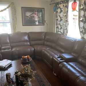 Reclining Leather Sectional for Sale in Decatur, GA