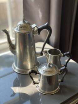 Egyptian Coffee Pot, Milk Jug, Sugar Bowl for Sale in Washington,  DC
