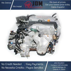 2003 2004 2005 2006 2007 Acura TSX 2.4l Dohc 4-Cylinder 3-Lobe I-Vtec Engine JDM K24A for Sale in Orlando, FL