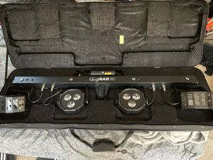 Chauvet DJ Gigbar 2 American DJ vpar Numark for Sale in Lake Elsinore, CA