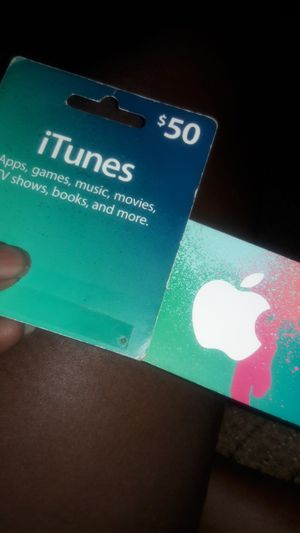 Itunes Card $50 for Sale in Little Rock, AR