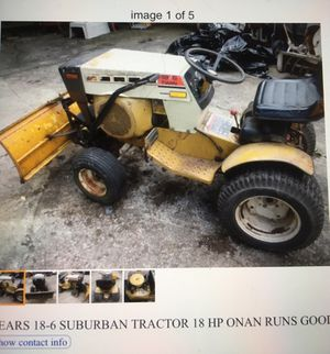 Sears Suburban 18/6 tractor 18HP onan for Sale in North Ridgeville, OH
