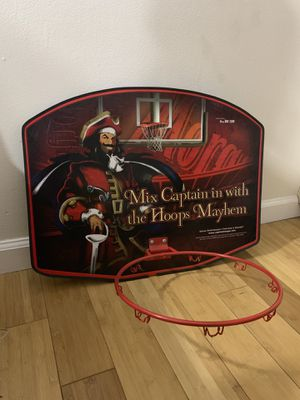 Captain Morgan Collectible Basketball Hoop for Sale in Los Angeles, CA