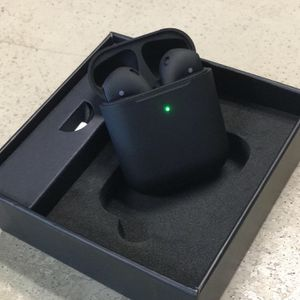 AirPods Gen 2 (Matte Black) Not Apple - High Quality for Sale in Big Bear Lake, CA
