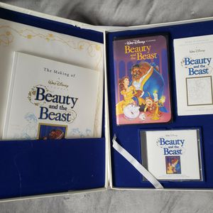 Disney 1991 Beauty And The Beast Deluxe Collectors Box Set for Sale in Nether Providence Township, PA
