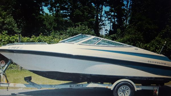 1997 Crownline Bowrider with Trailer