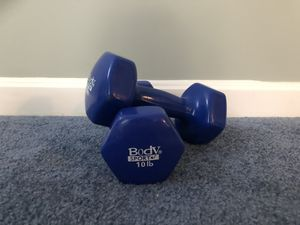 10lb Dumbbells (come in pairs) for Sale in Arlington, MA