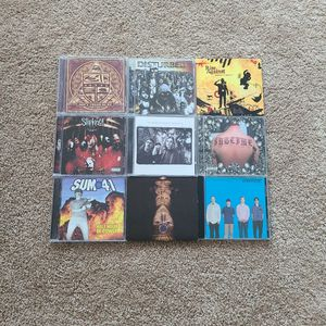 9 Rock And Metal Cd Collection for Sale in Chicago, IL