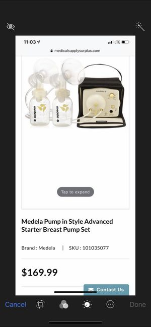 Medela double electric breast pump for Sale in Clovis, CA