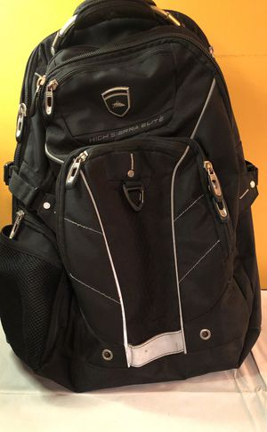 """High Sierra Elite Backpack - perfect for Student or Office - 17"""" laptop - TSA approved for Sale in Chicago, IL"""