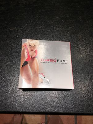 Turbo Fire intense cardio conditioning 10 DVDs for Sale in Litchfield Park, AZ