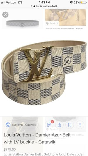 147d3ebc377c Louis Vuitton belt for Sale in Kent
