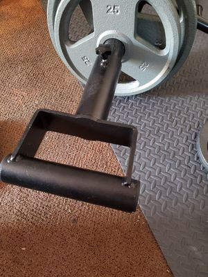 Landmine fitness handle row gym fitness olympic barbell hex dumbbells for Sale in Whittier, CA