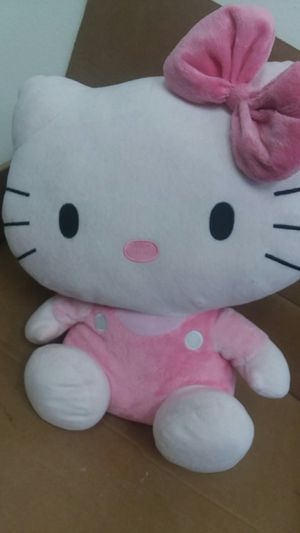 Hello kitty doll pink with bow for Sale in Orlando, FL
