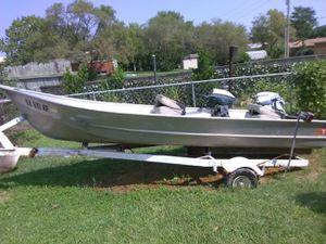 Southwest marine fishing boat cash only!! for Sale in Wichita, KS