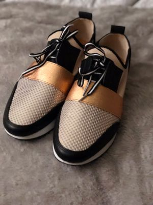 Copper Steve Madden size 9 women's sneakers for Sale in Oxon Hill, MD