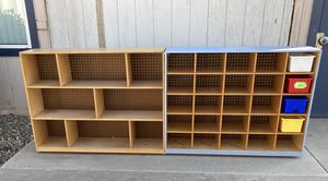 2 Rolling Shelves/Cubby Organizer - SOLD SEPARATELY for Sale in Tulare, CA