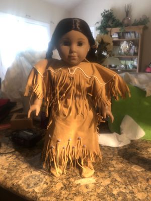 Used, American Doll Kaya w horse saddle accessories and 6 book set for Sale for sale  Willis, TX