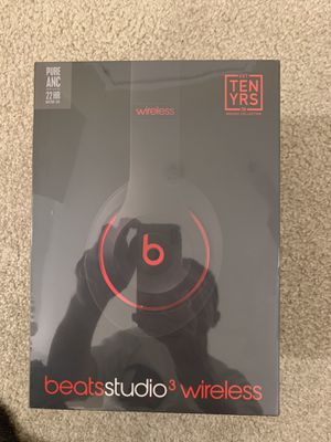 Beats studio 3 wireless (Brand new) Color: Black & Red for Sale in Seattle, WA