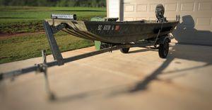 G3 14' Aluminum Boat with trailer. for Sale in Hogansville, GA