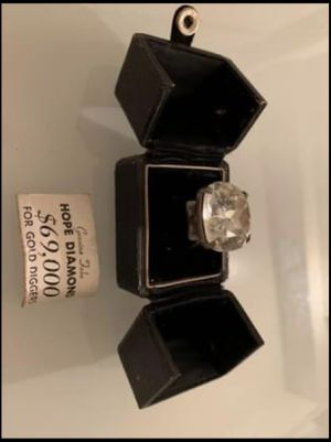 HOPE DIAMOND For Gold Diggers 1960's for Sale in New York, NY