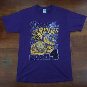"""Vintage 2004 """"Keeper of the Rings"""" Lakers tee for Sale in Buena Park, CA"""