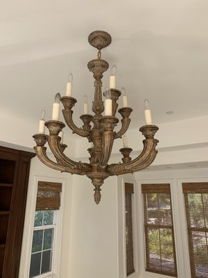 4 chandelier light fixtures 👀 at the photos for Sale in Irvine, CA