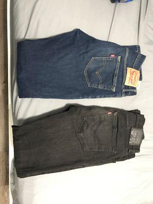LEVIS Jeans men's. (left) W30 L32 (right) W31 L34 for Sale in Las Vegas, NV