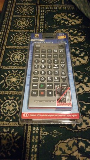 Jumbo universal remote brand new for Sale in Fall River, MA