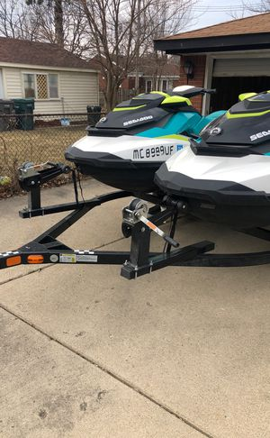 2018 SEEDOO GTI JETSKIS WITH 2018 TRAILER for Sale in Dearborn, MI