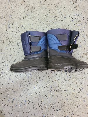 SIZE 10c Snow boots worn once for Sale in Las Vegas, NV