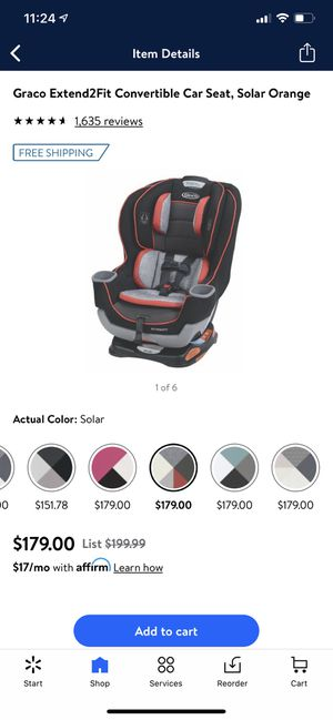 GRACO EXTENDING2FIT CONVERTIBLE CAR SEAT BRAN NEW for Sale in Northwest Plaza, MO