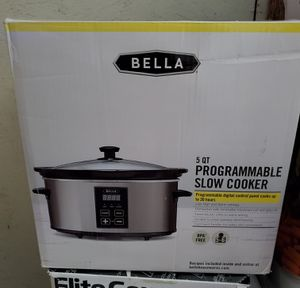 New programmable slow cooker 5 quarts for Sale in Riverside, CA