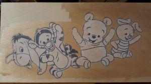 Winnie the Pooh & Friends Wooden Art for Sale in Kailua-Kona, HI